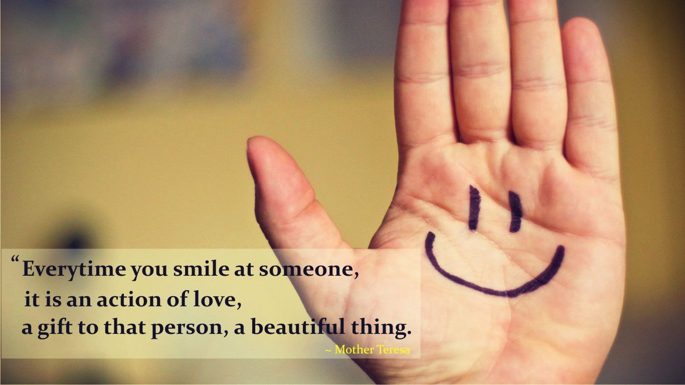 Cute Quote About Smile