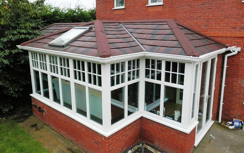 Bespoke Single Storey Extension Builders Single Storey Extension Tiled Conservatory Roof House In The Woods