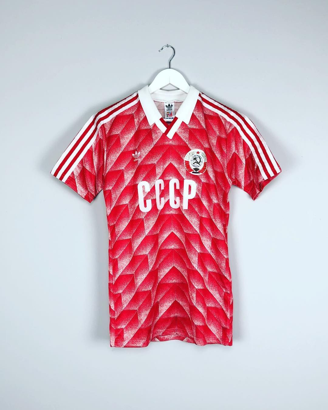 Classic Soviet Union 198889 home shirt by @adidas Link to