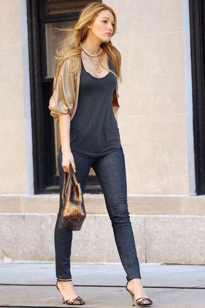 Blake Lively Serena Van Der Woodsen Gossip Style Outfits British Vogue