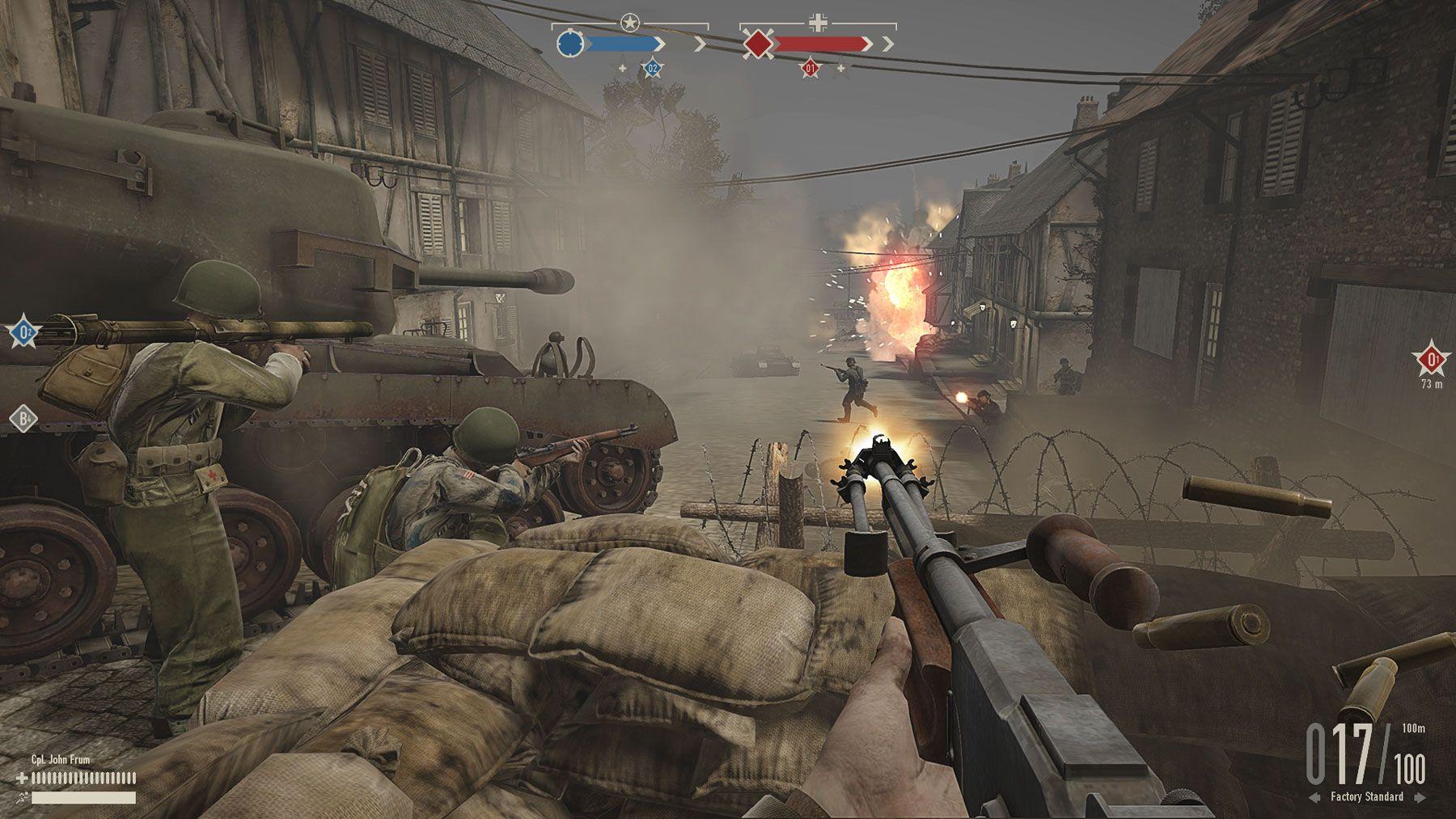 MultiplayerShooter on the theme of World War II