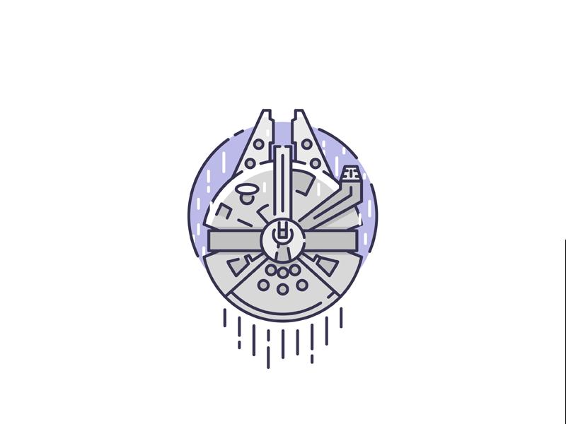 Millenium Falcon Star Wars Drawings Star Wars Tattoo Star Wars Art