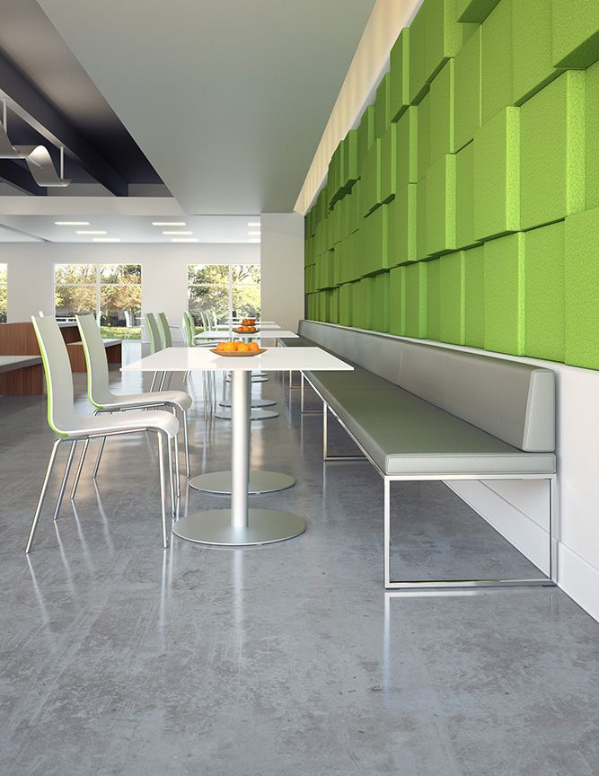 Fina Chairs From Davis Furniture Shown With Modo Bench And Veer Tables