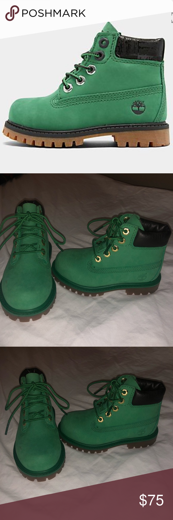Green Timberland Boots in 2020