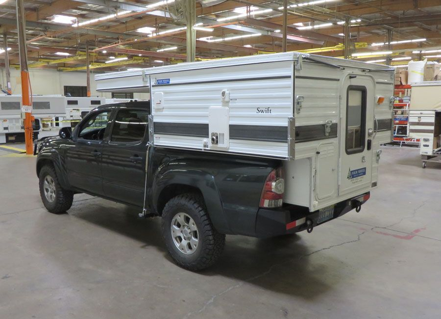 Swift Pop Up Shorter 5 0 Bed Four Wheel Campers Low Profile