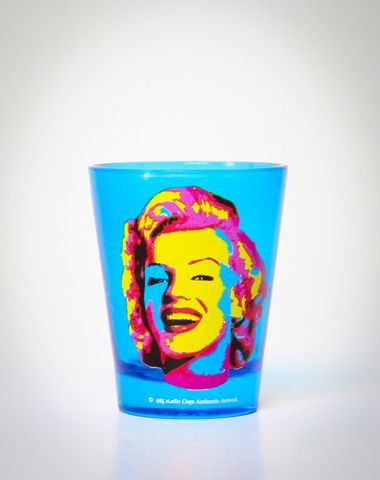 Marilyn Monroe Warhol Shot Glass