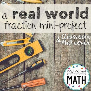 Multiplying Fractions Project #mathintherealworld