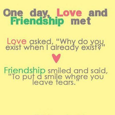 Good Quotes About Love And Friendship Magnificent Friendship  So Much Easier 3  The Truth About Friends