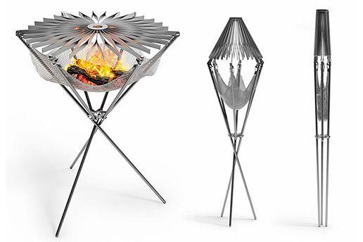 Elegantly Designed Portable Grill