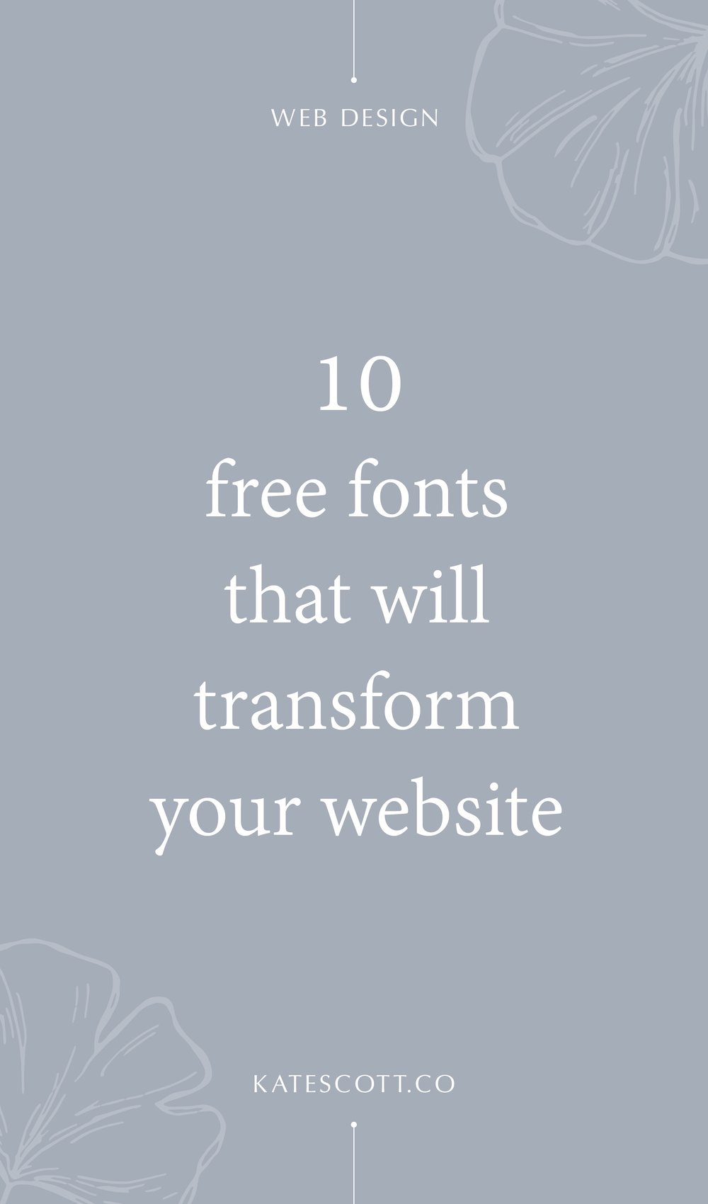 10 Free Fonts That Will Transform Your Website Free font