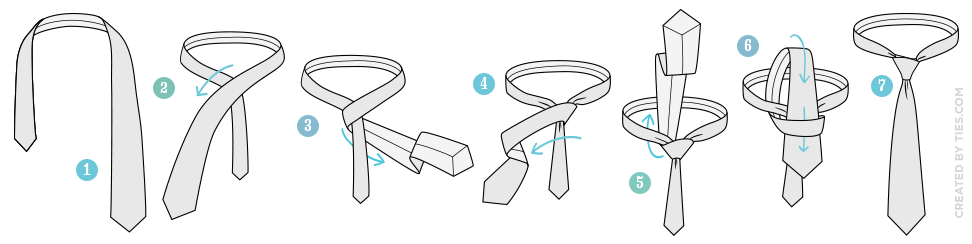 How to Tie the Four-in-Hand Knot