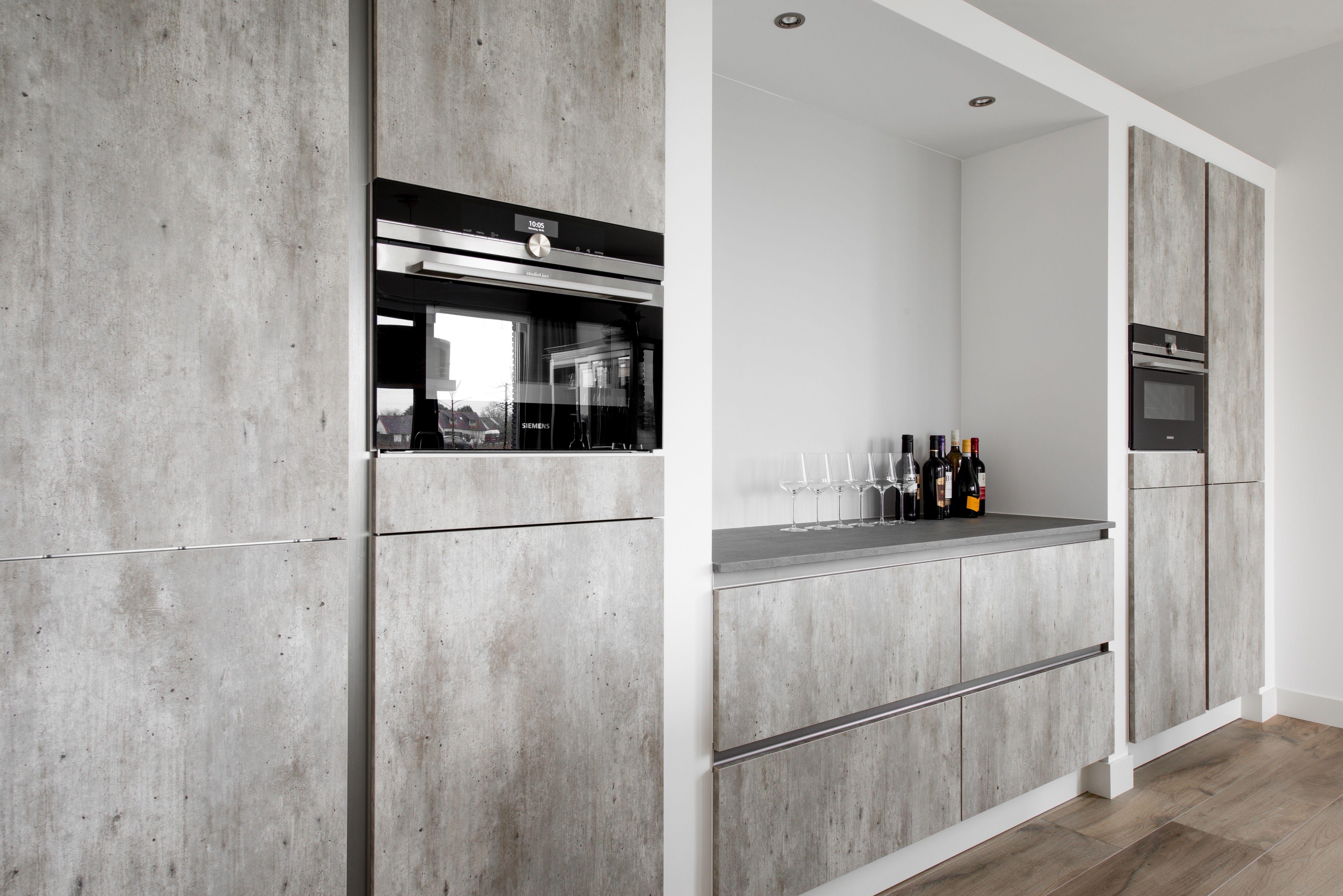 Moderne keuken design keuken atag gaskookplaat siemens ovens