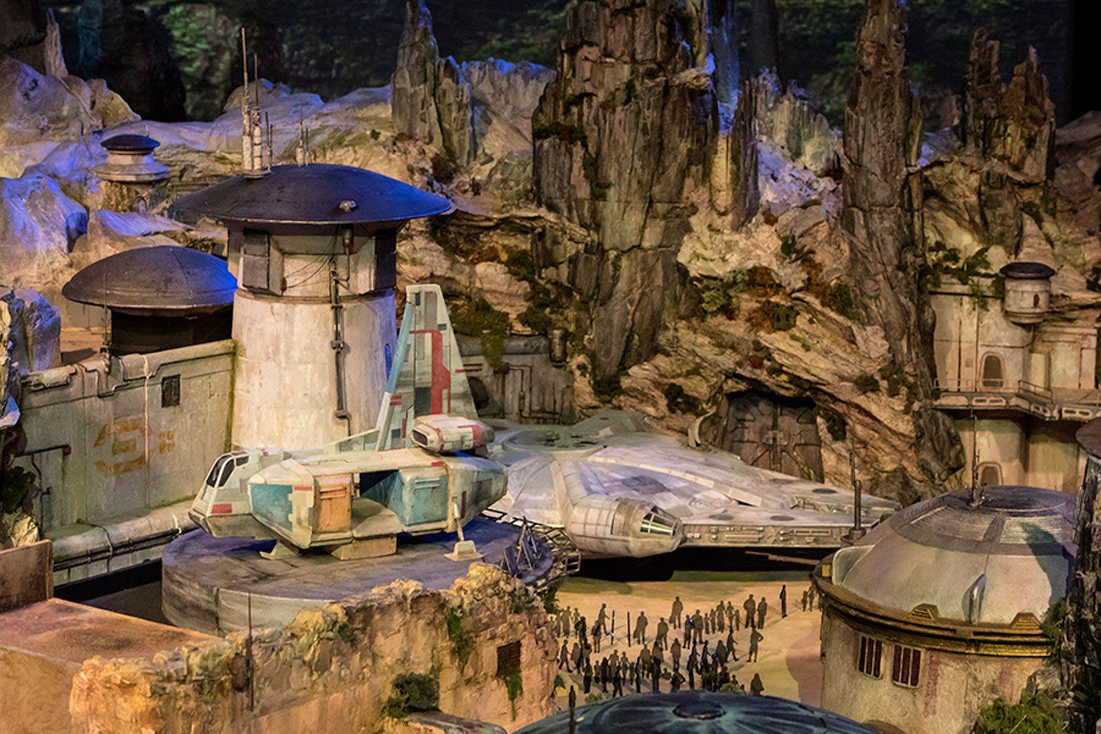 Disney S Star Wars Theme Park Is Taking Shape Disney Star Wars