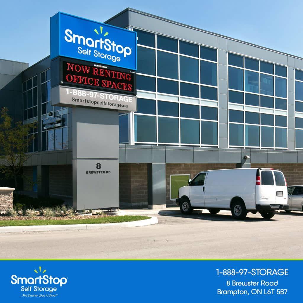 Smartstop Self Storage Ontario Brampton Office Exterior Self