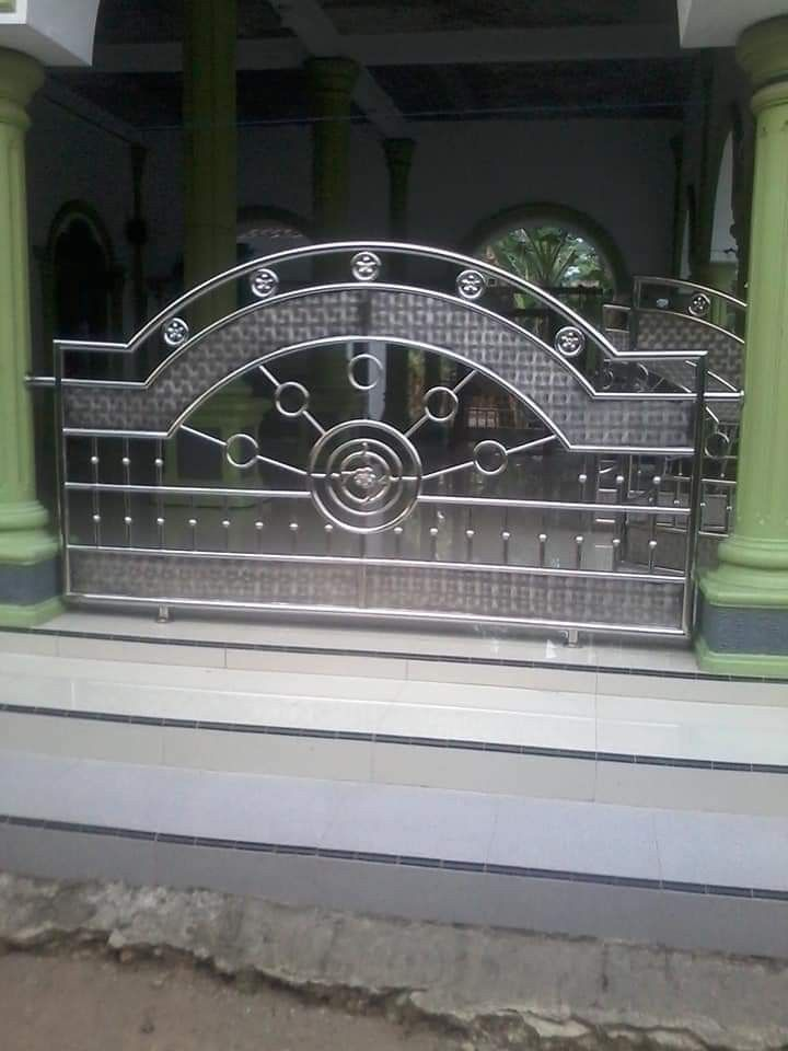 Pagar Besi Masjid Minimalis - Content