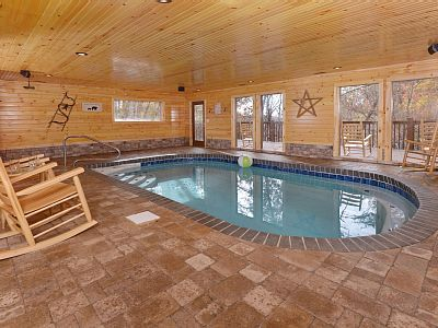 Vrbo Com 783214 Indoor Swimming Pool Brand New Cabin Guaranteed Best Rates Sleeps 12 In Beds I Pool Indoor Swimming Pools Heated Pool