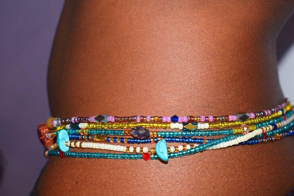 bijoux hanche femme petit perle
