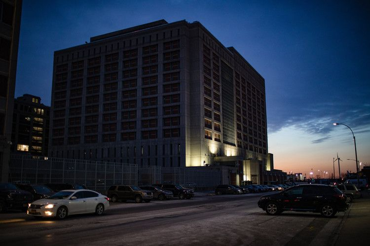No heat for days at brooklyn jail where hundreds of