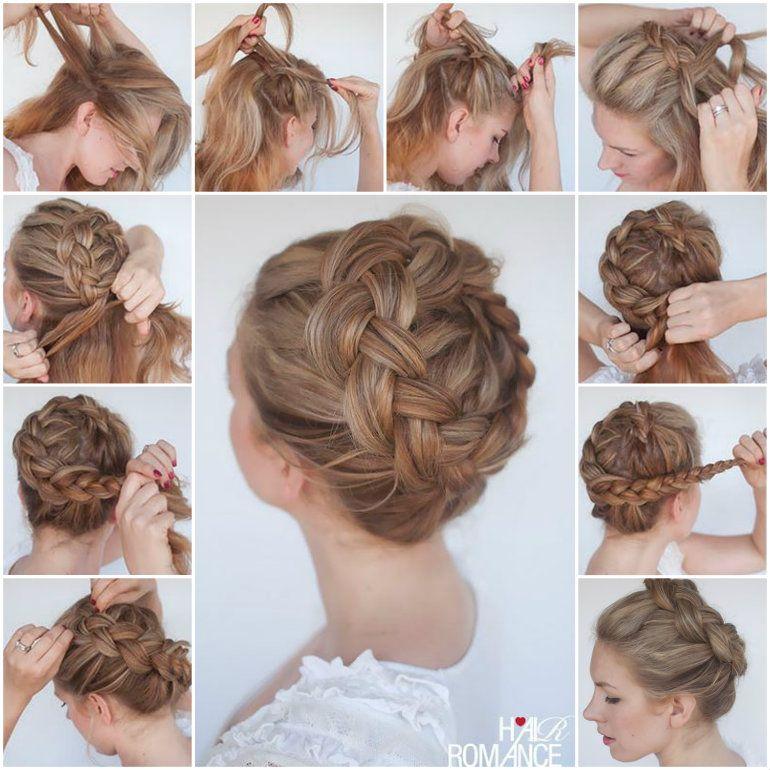 Tremendous Crowns Braid Crown And Braided Crown On Pinterest Short Hairstyles Gunalazisus