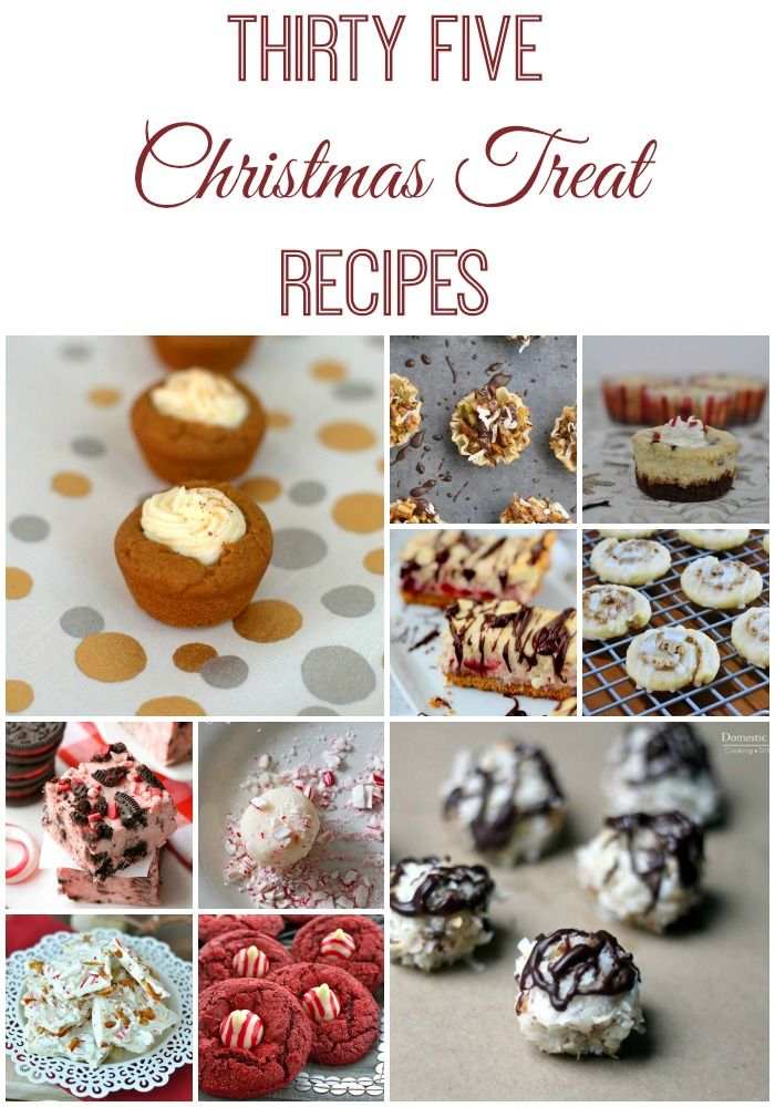 Oh yum! I want to try all 35 of these delicious Christmas treat
