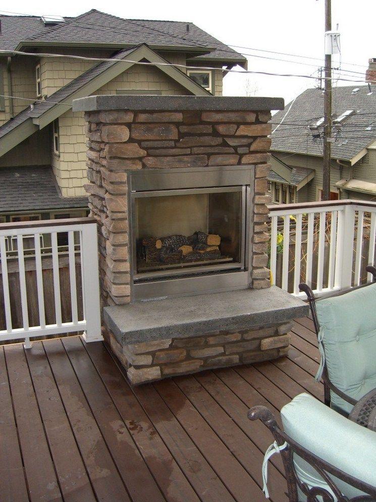 Deck Kamin Kamin Outdoor Fireplace Deck Fireplace Deck Designs Backyard