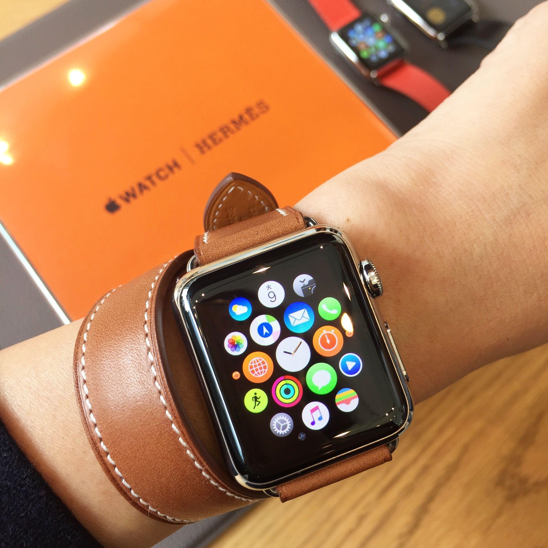 2015年10月5日(月)に発売された、「Apple Watch Hermès」を着用体験!