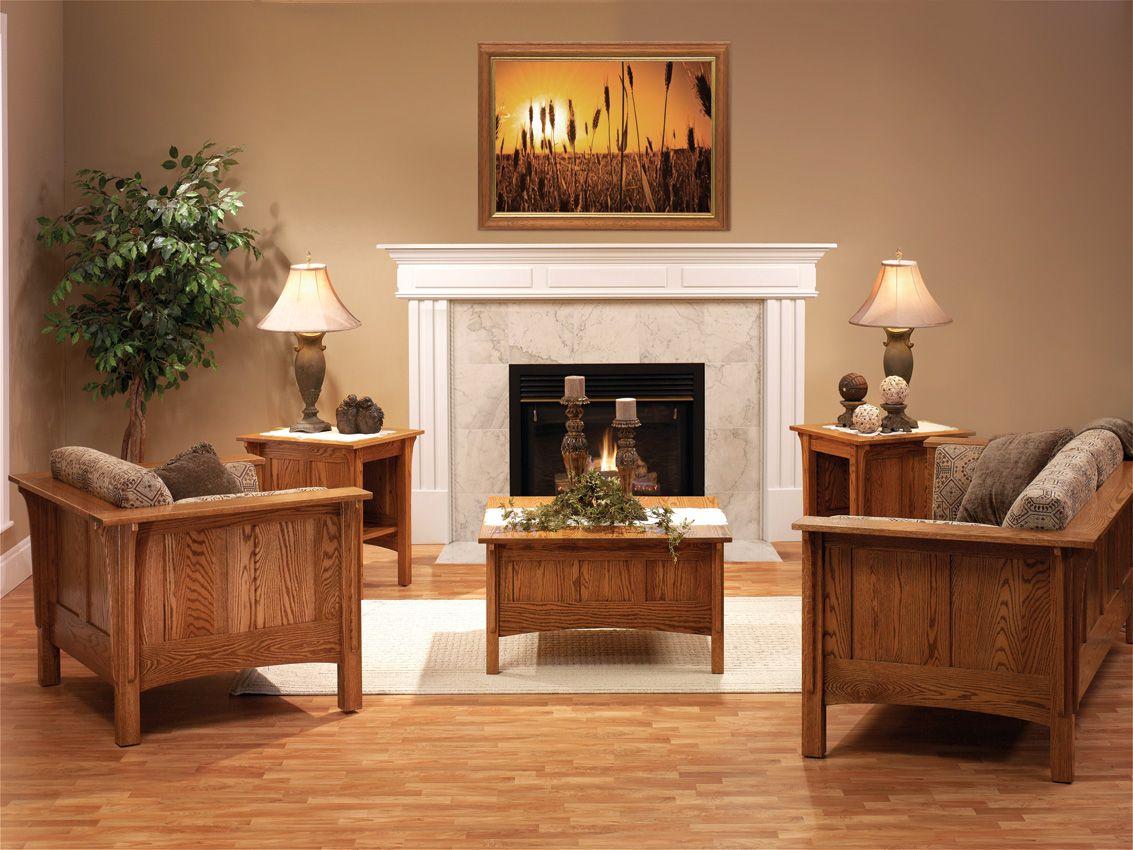 Shaker Mission Style Furniture Cottage Living Rooms Modern