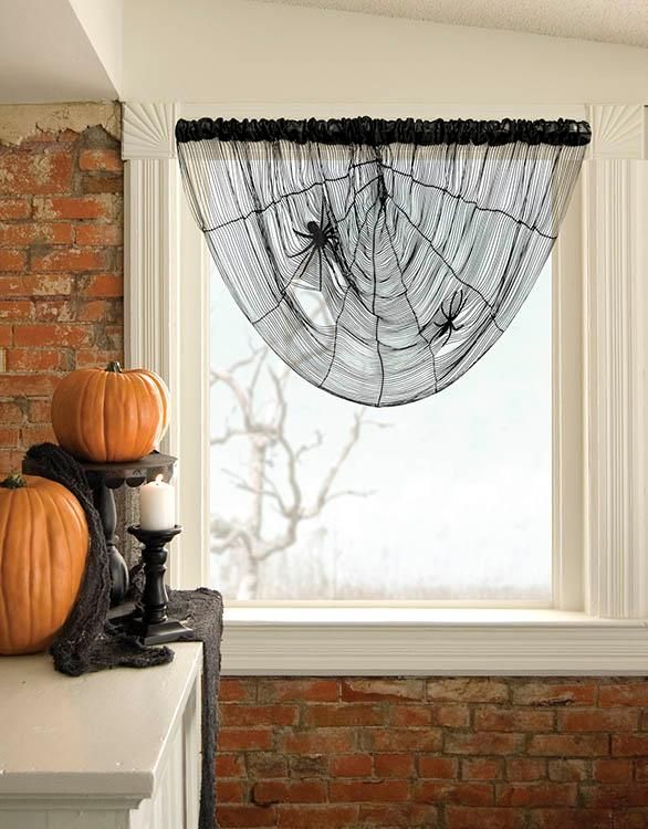 Halloween decorations  IDEAS  INSPIRATIONS Spider Web String - spider web decoration for halloween