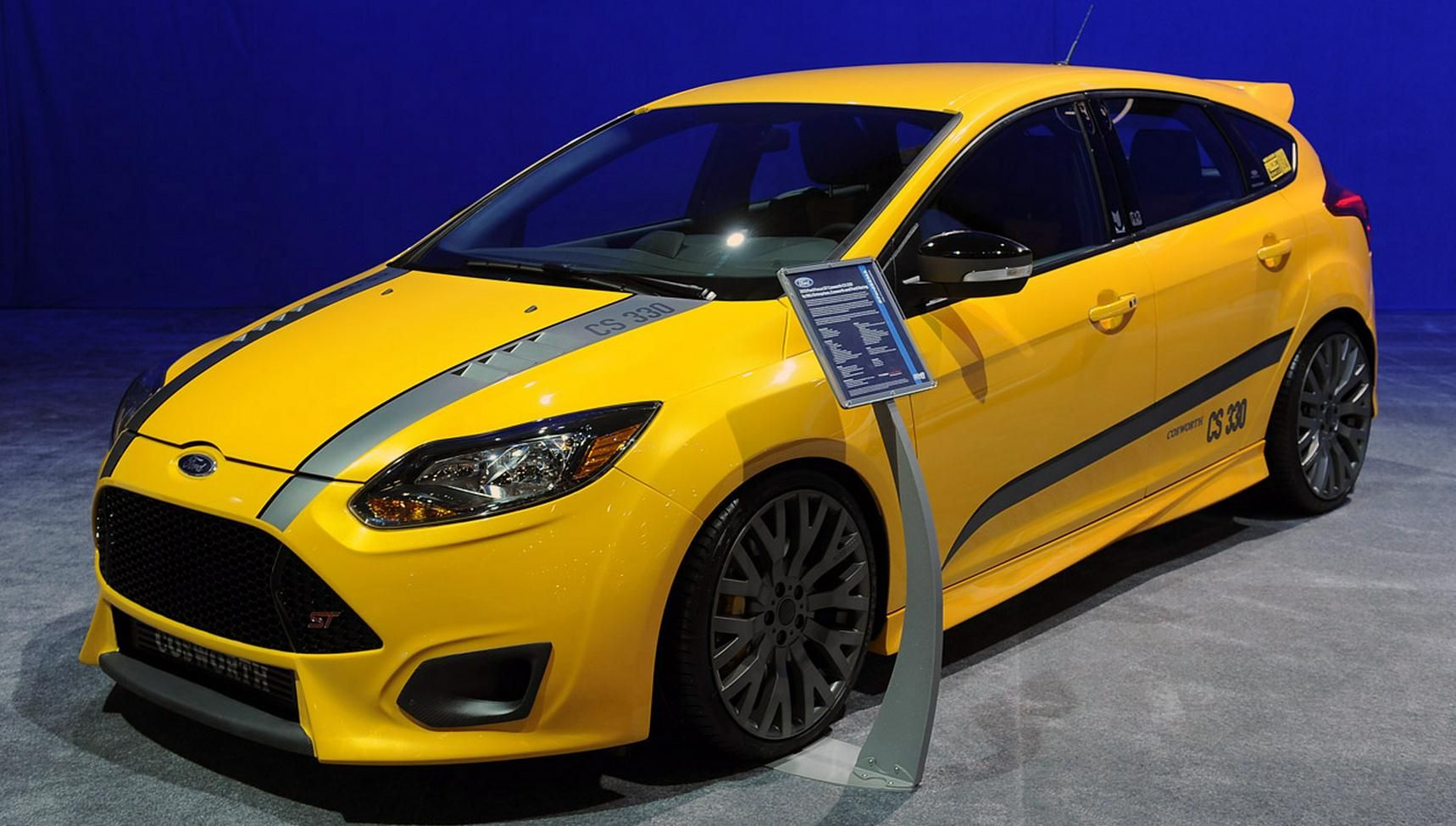 The Theme Based Customization On 2013 Ford Focus St With 2 0 Litre