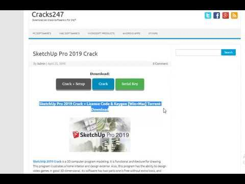 Sketchup Pro 2019 Serial Number And Authorization Code