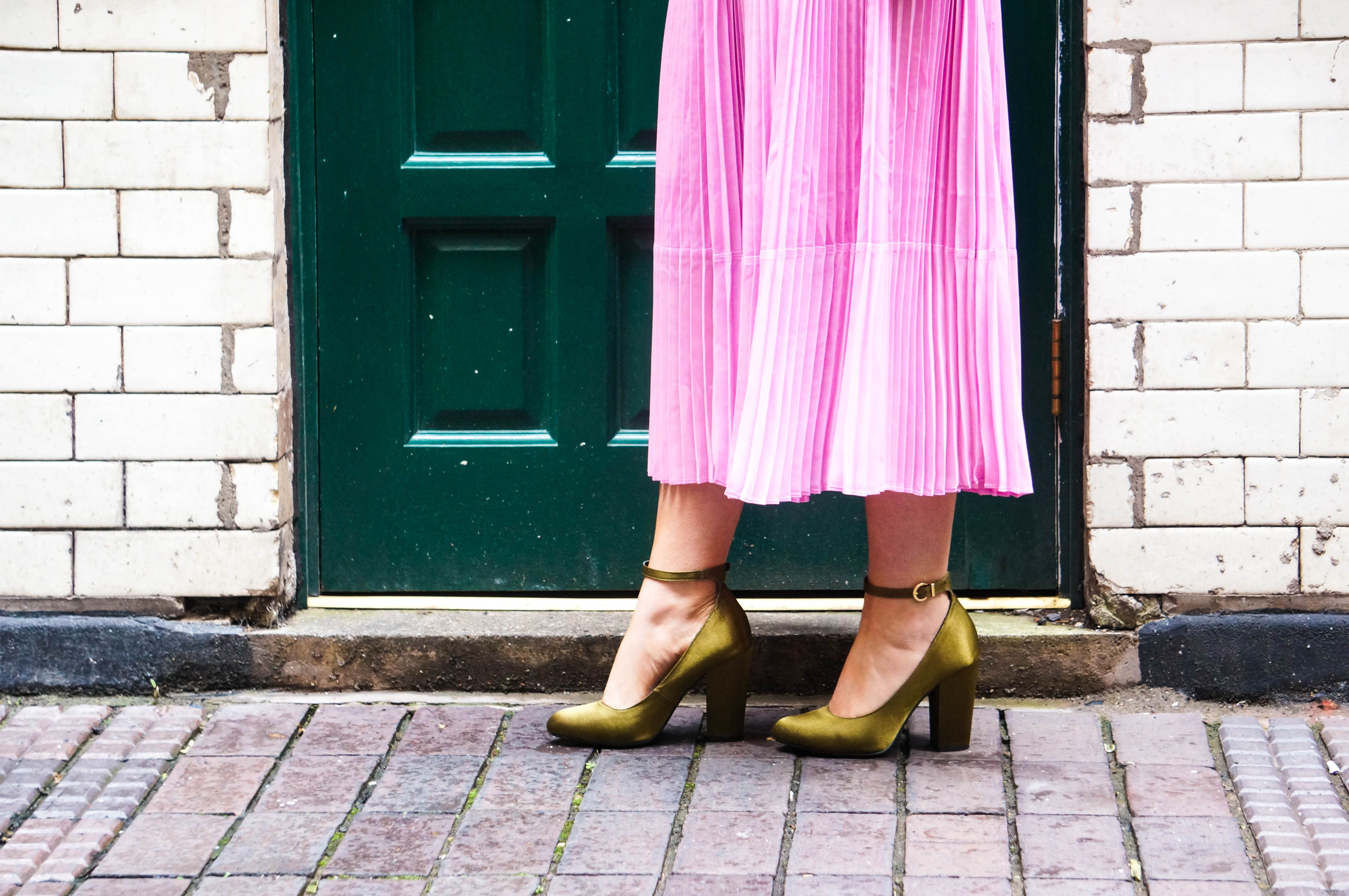 Pink Pleats Pink Outfits Style Pink
