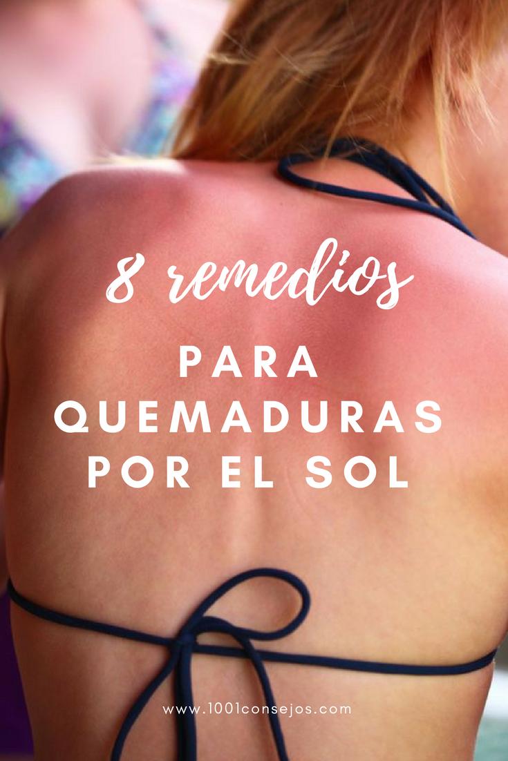 remedios caseros para la piel roja por el sol