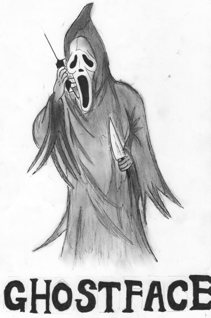 Ghostface Ghostface Horror Movie Art Horror Pictures