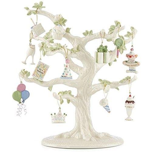 Happy Birthday 12-piece Ornament Set by Lenox | Lenox ...