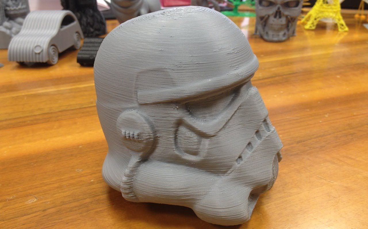 Storm Trooper Helmet - Star Wars - Stampa in HIPS