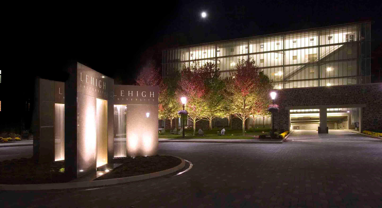 Lehigh University Alumni Memorial Hall Site Lighting Architectural Lighting Design Light Architecture Lehigh University