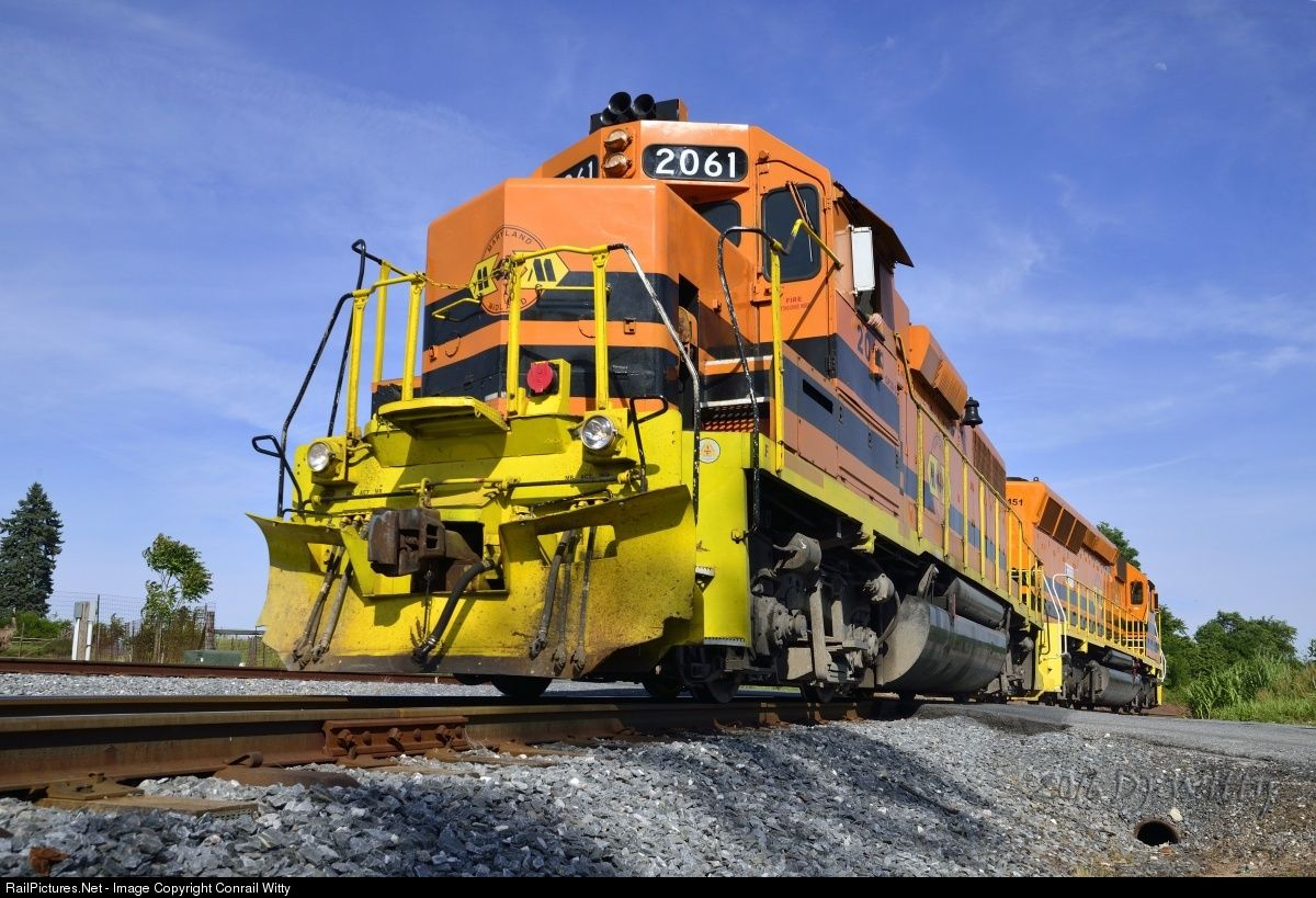 RailPictures.Net Photo: MMID 2061 Maryland Midland Railway EMD GP38-3 at Keymar, Maryland by Conrail Witty