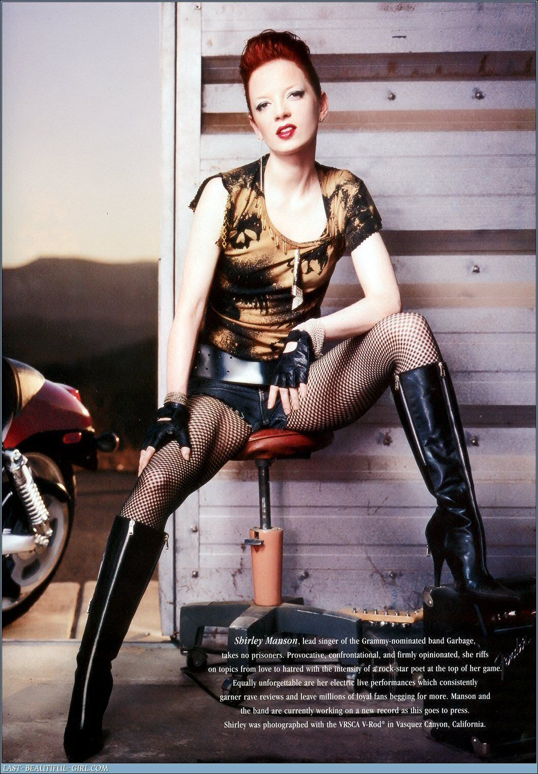Shirley Manson.