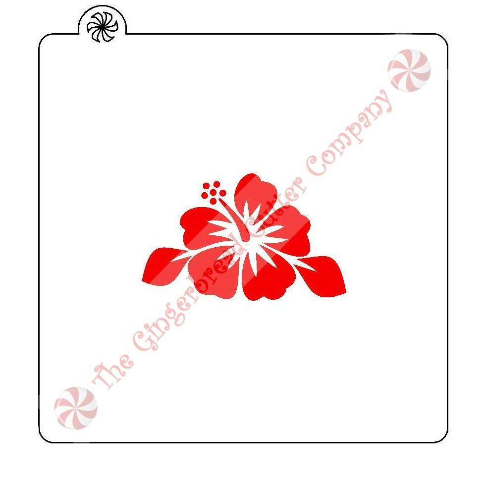 Hibiscus flower cookie stencil hibiscus flowers and products hibiscus flower cookie stencil izmirmasajfo