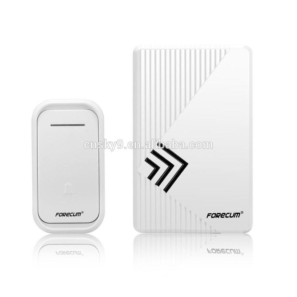 Wireless Digital Remote Cordeless Doorbell 1 Receiver 36 Music Tune Door Bell UK