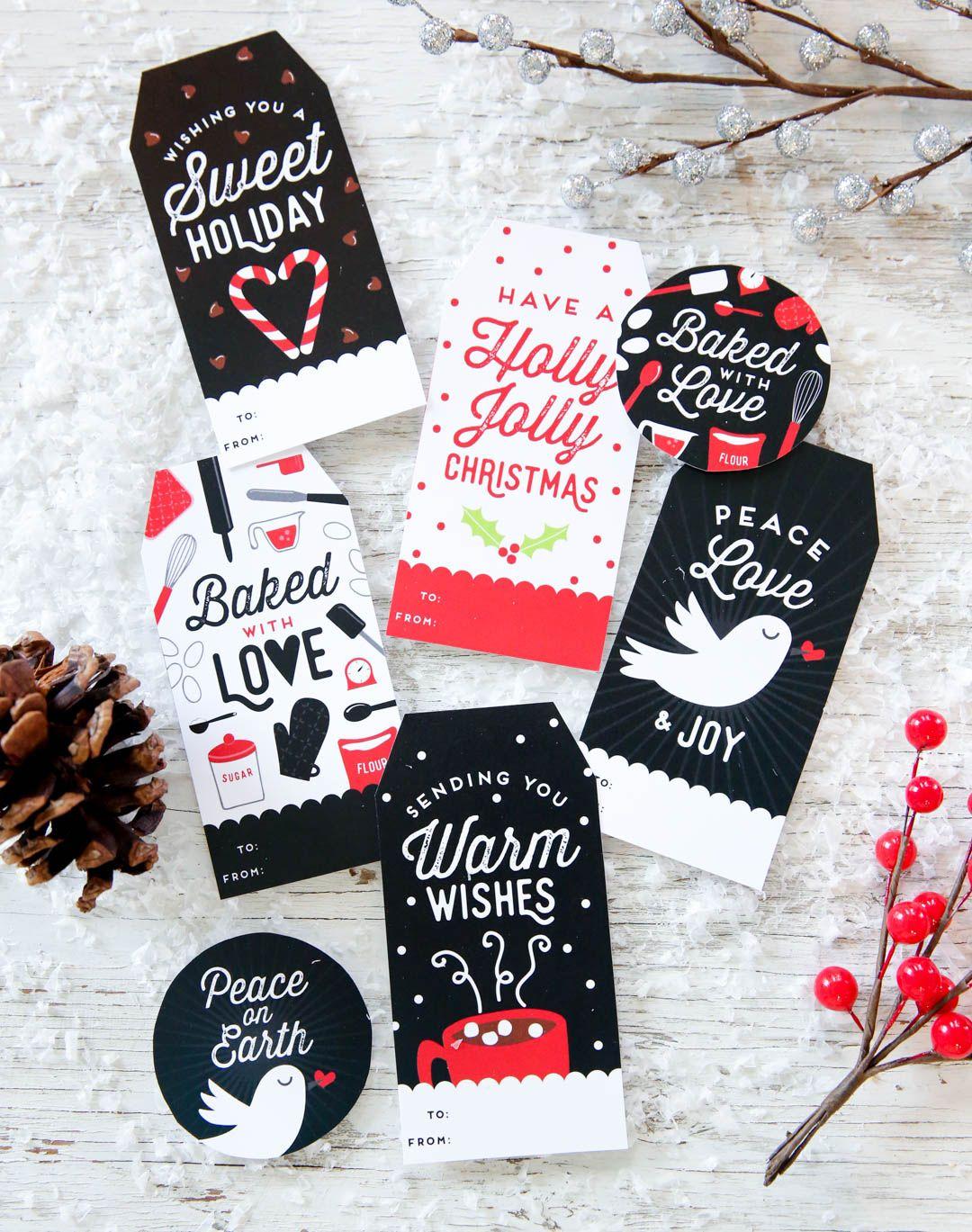 It is a graphic of Comprehensive Free Printable Editable Christmas Gift Tags