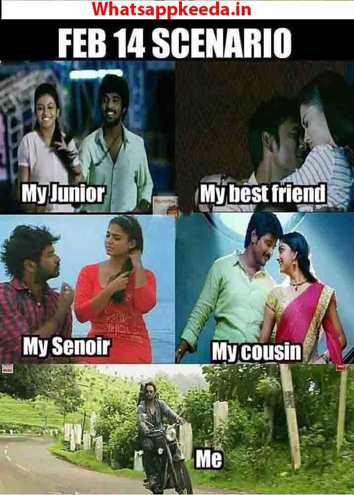 Pin By Vinoth Kumar On Humour Valentines Day Memes Single Valentines Day Memes Funny Fun Facts