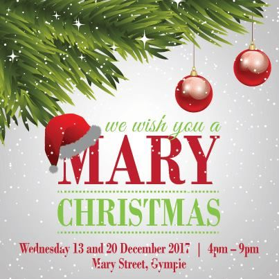 Nice Mary Christmas Street Party Wed 13 20 Dec Gympie Town Centre Mary Christmas Christmas Gympie