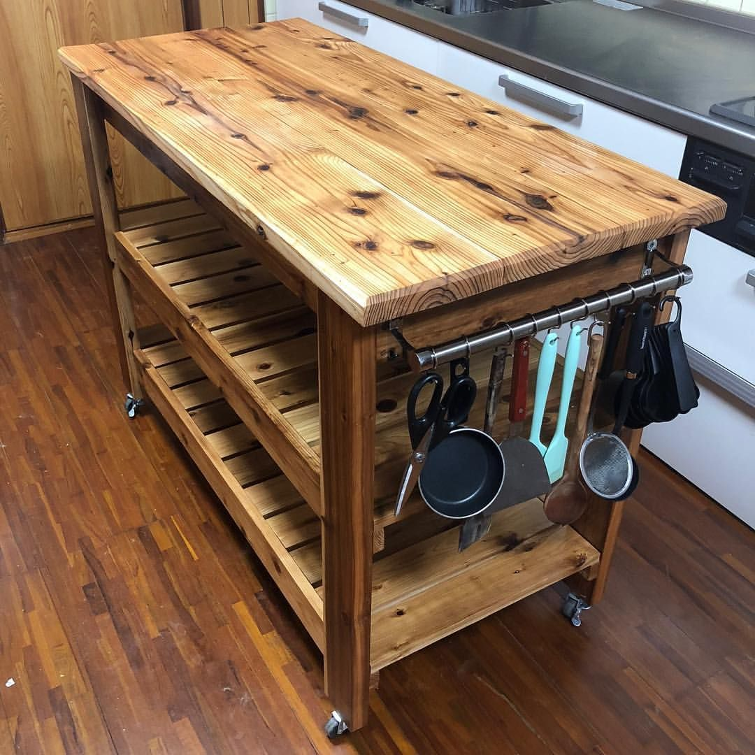 Finished Up The Kitchen Island Top
