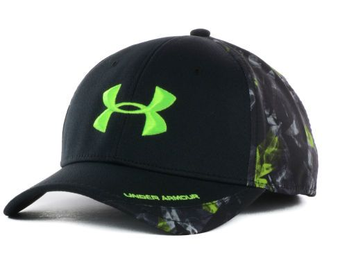 7cfb8260a99 Under Armour Smoke Camo PC Flex Cap Hats