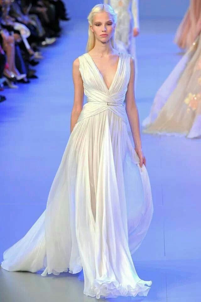 bcee1e78599a Greek inspired couture Elie Saab SS 2014 | Everything...Chic!! in ...