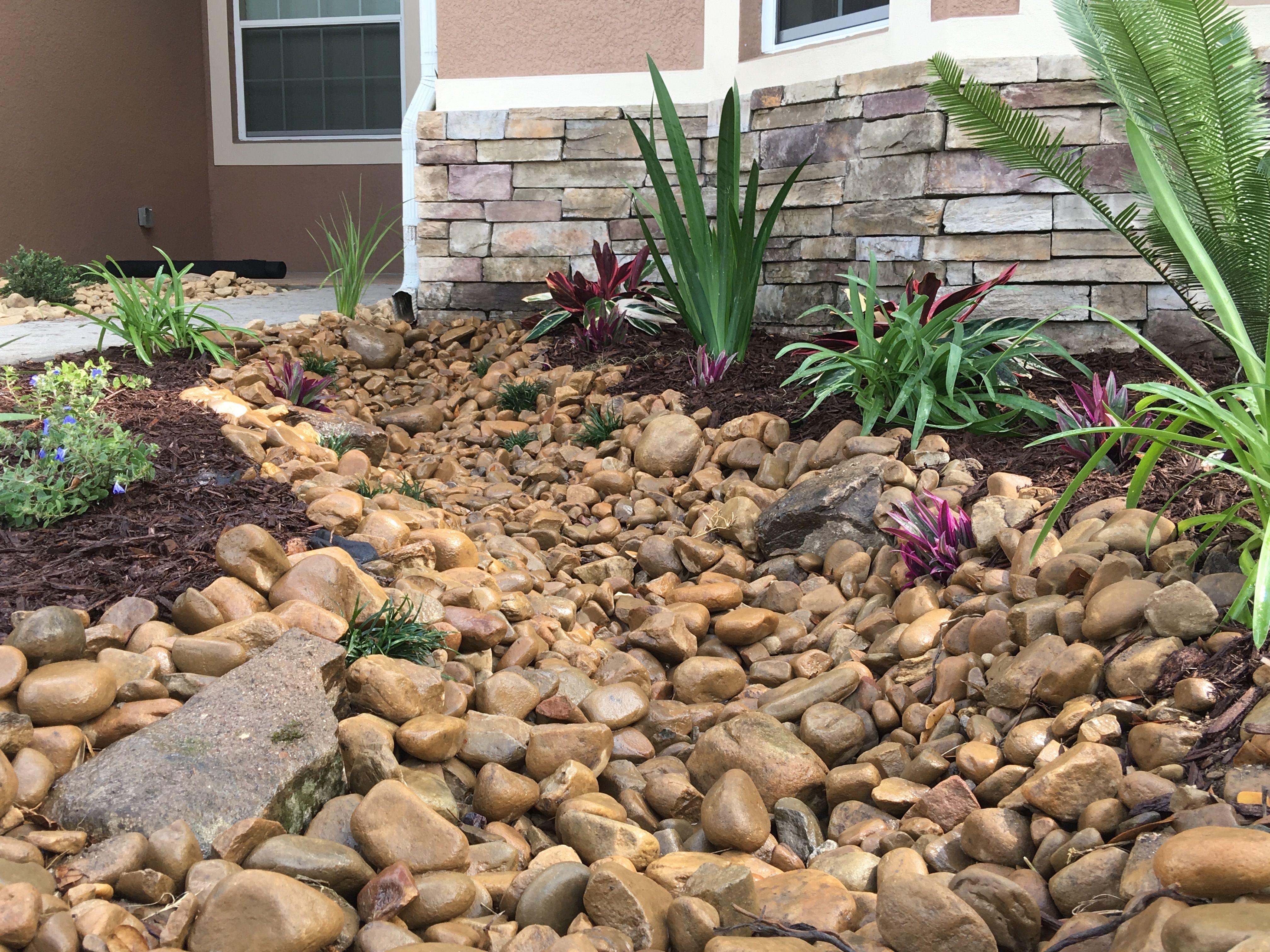 Florida Style Dry Creek Bed   Landscape Design   Pinterest   Dry ...