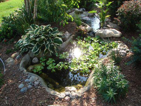 Preformed Ponds To Landscape Your Yard