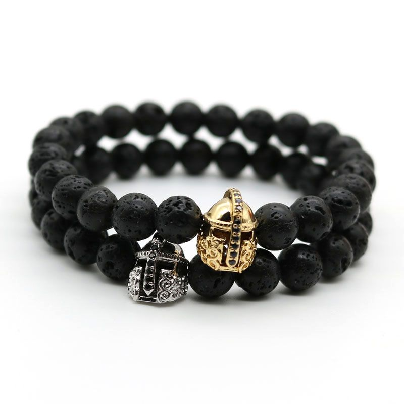 lava head lion tlvibe wholesale black color men beaded for antique buddha bracelet bracelets gold volcano stone leo product