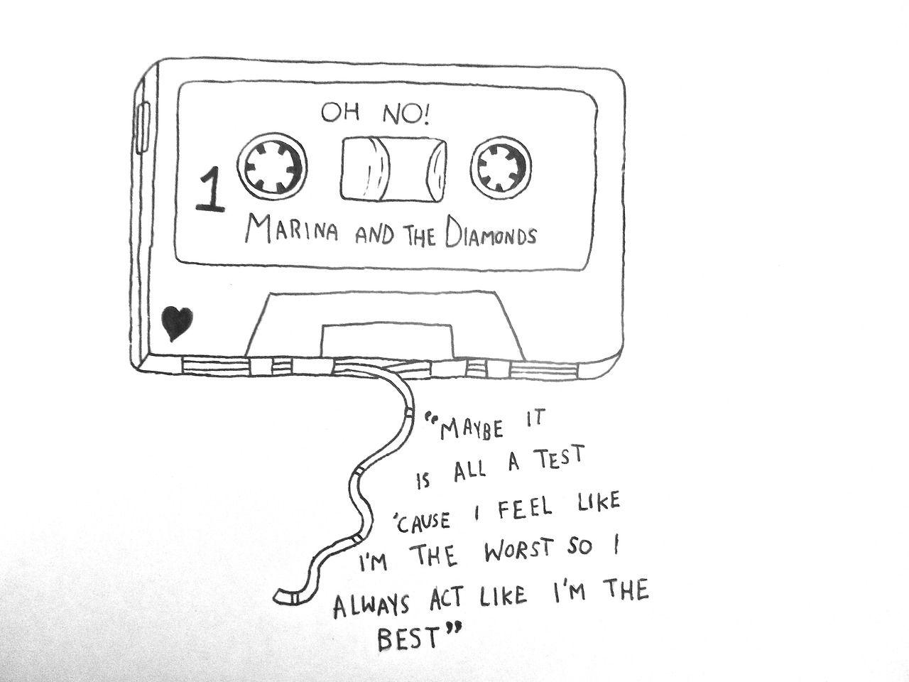 (27) marina and the diamonds lyrics   Tumblr   Precious ...Marina And The Diamonds Song Quotes